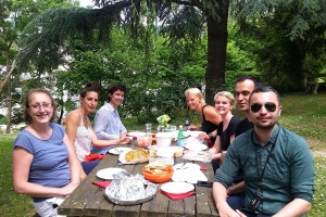 Outdoor Lunch with Catharina 2017